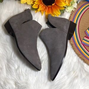 Kenneth Cole Reaction Cutout Ankle Booties 10